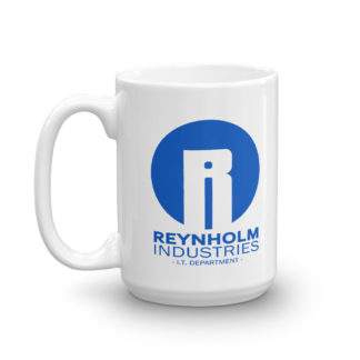 Reynholm Industries IT Department 15 ounce mug